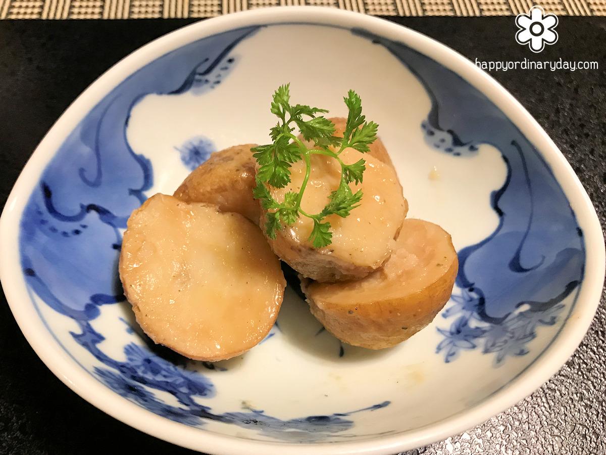 白土馬鈴薯 味噌煮