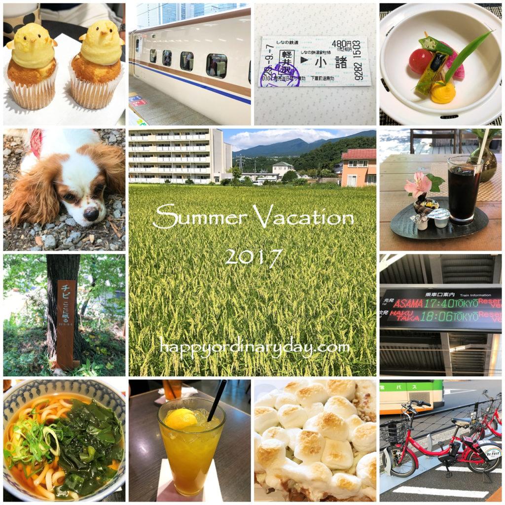 Summer Vacation 2017