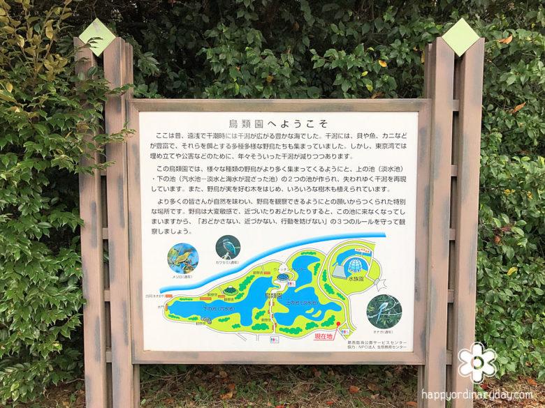 鳥類園地図