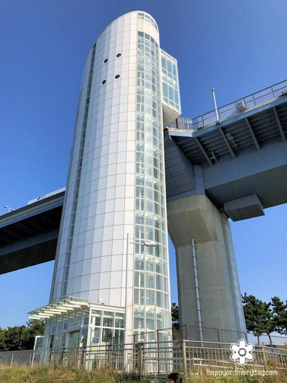 東京ゲートブリッジ・若洲昇降タワー