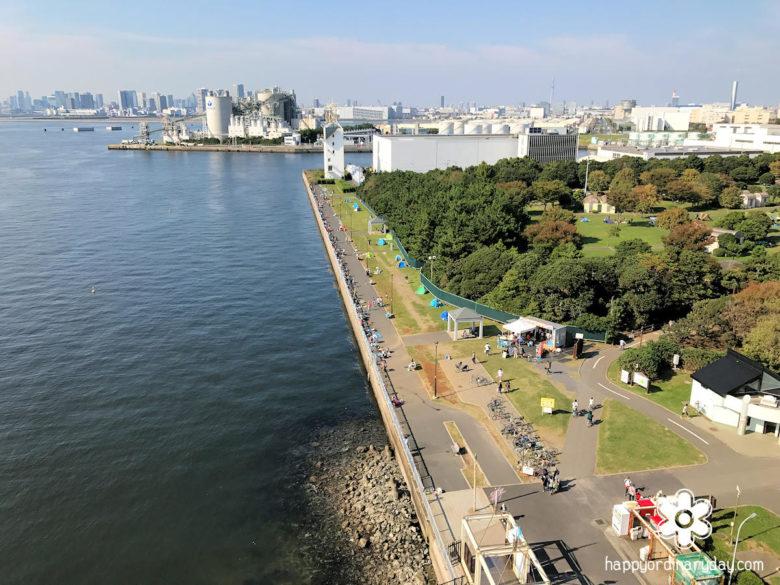 東京ゲートブリッジからの眺望