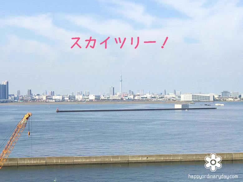 東京ゲートブリッジからスカイツリー