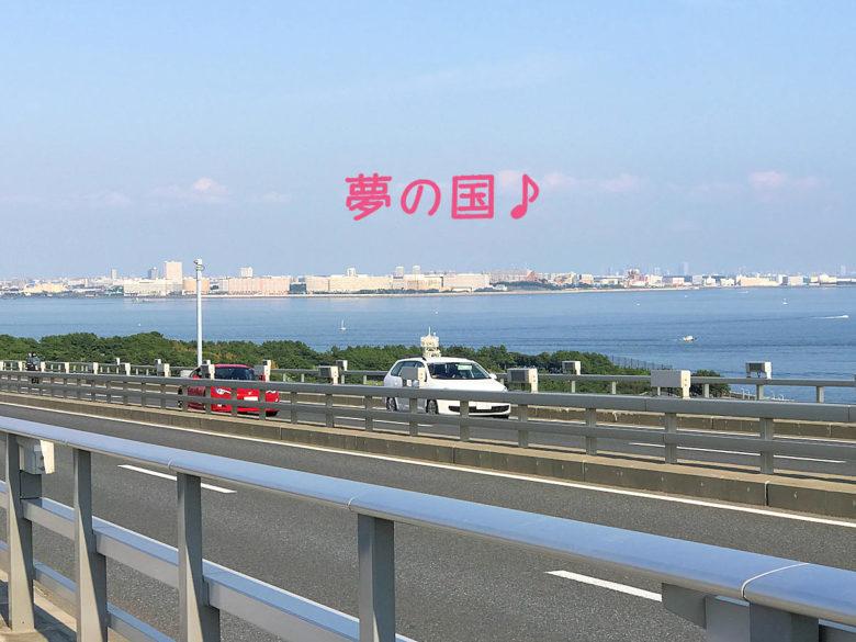 東京ゲートブリッジから夢の国