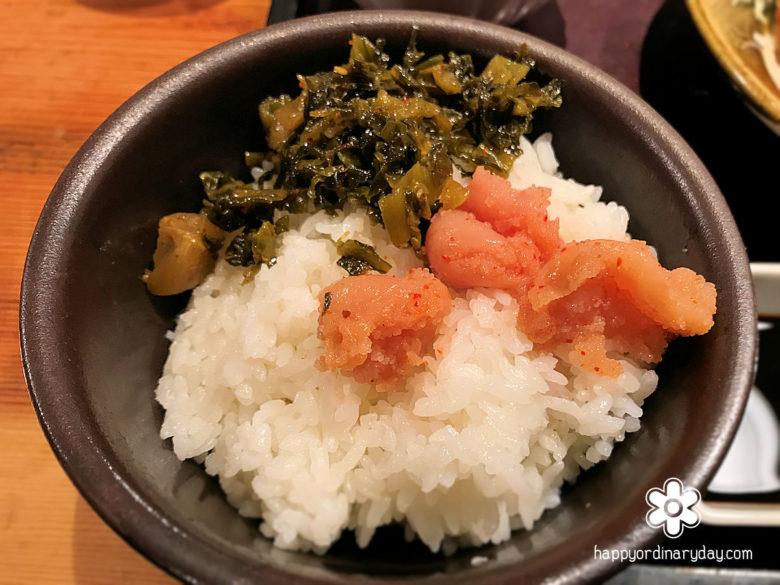 明太子&高菜