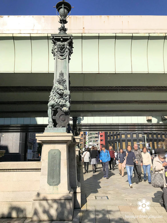 日本橋の獅子像