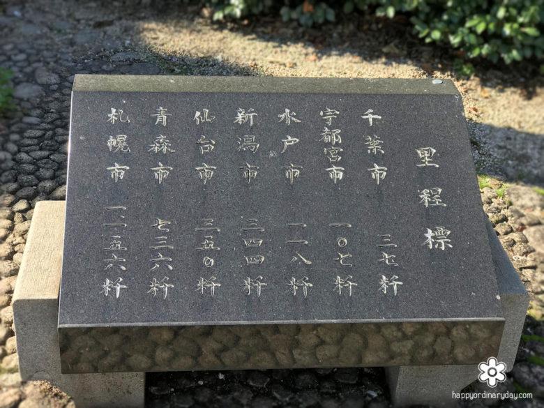 里程標(東日本)