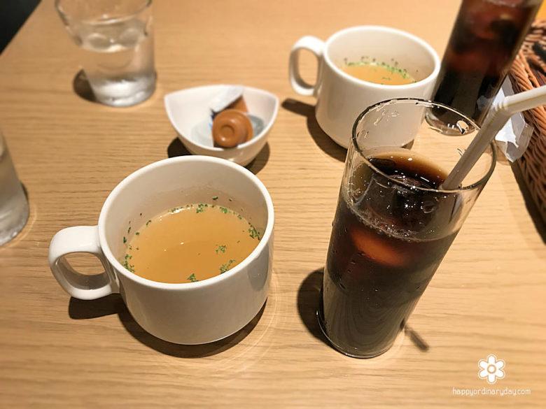 スープ&アイスコーヒー