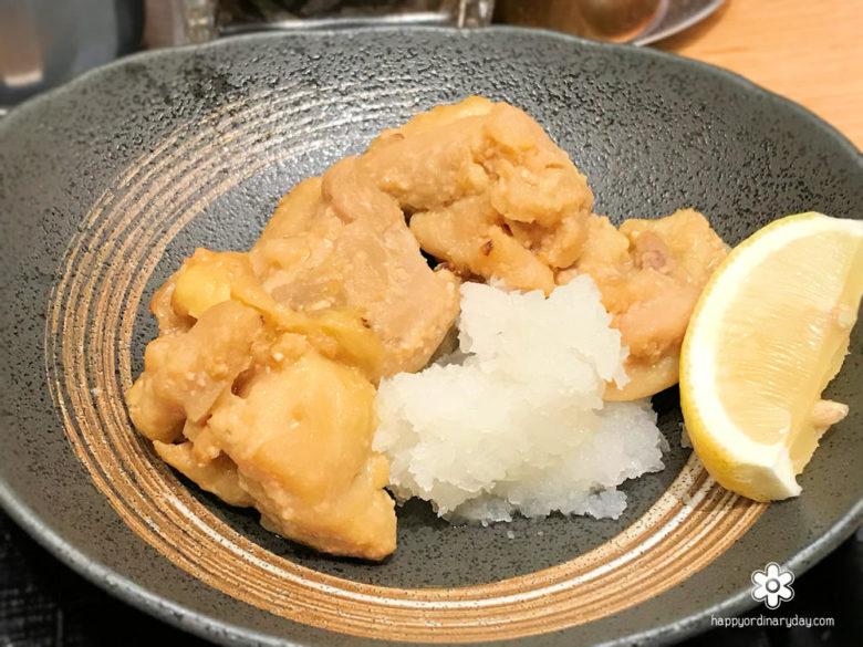 若鶏の西京焼