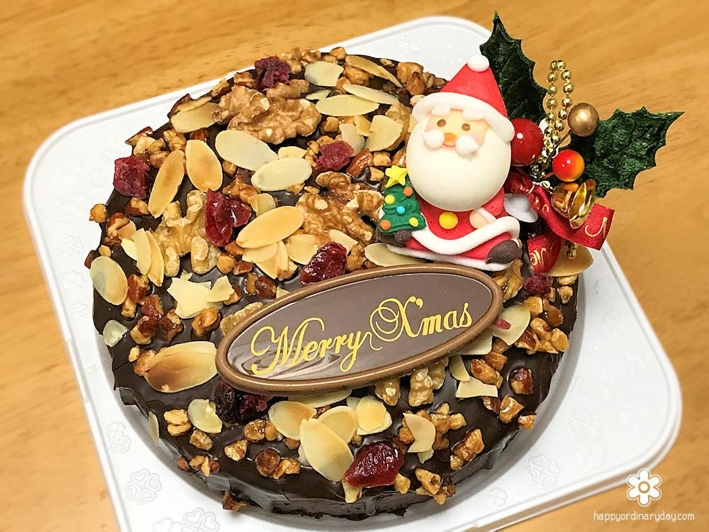 Aokiクリスマスケーキ ショコラ&ナッツ