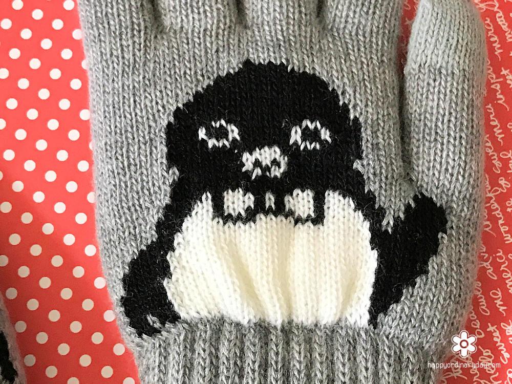 Suicaのペンギン 手袋