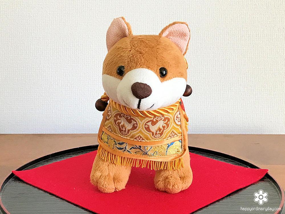 龍村美術織物「2018年 干支「戌」マスコット人形